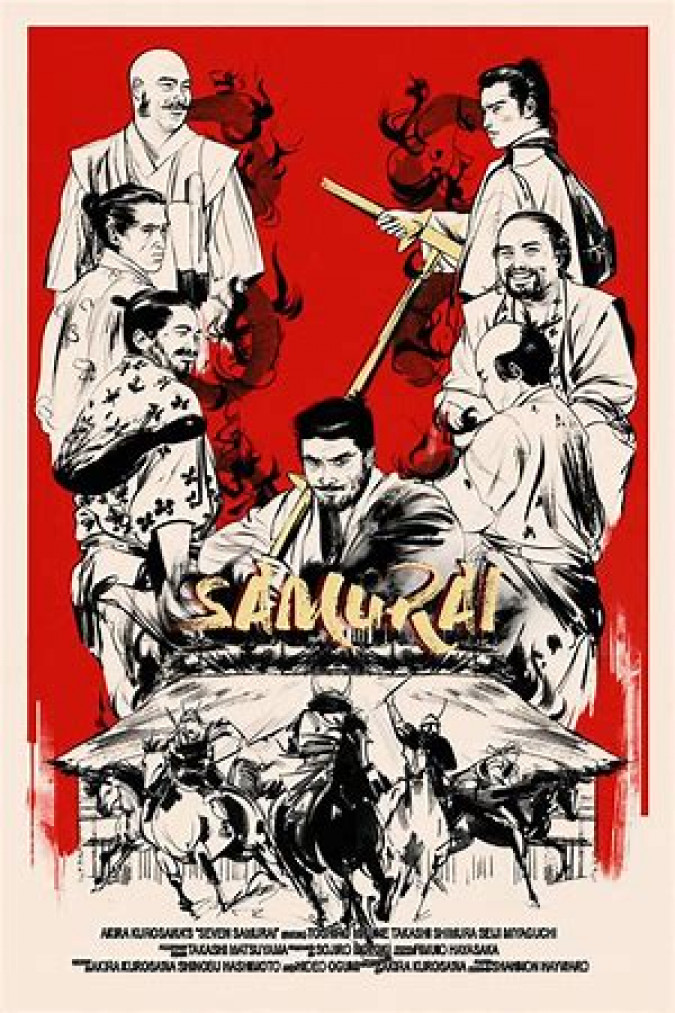 Seven Samurai كوردبێست
