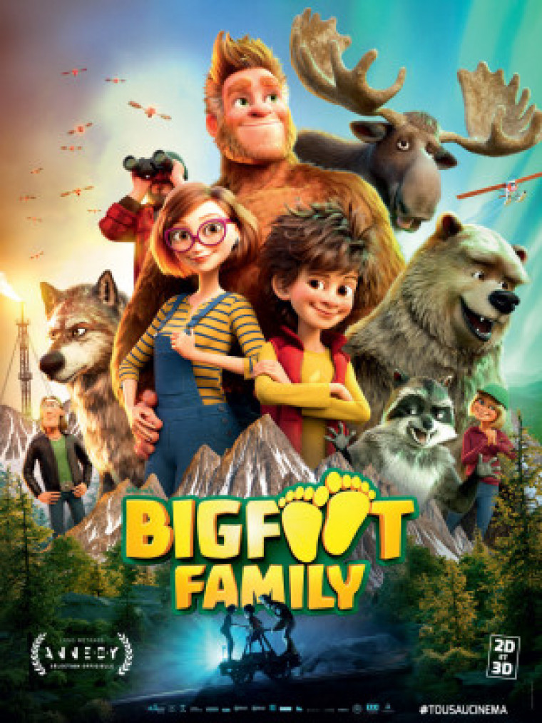 Bigfoot Family كوردبێست